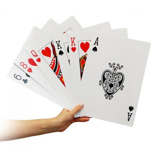 Гигантские игральные карты (А4)