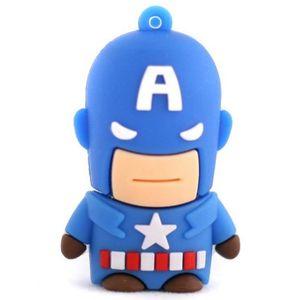 Флешка Капитан Америка 8 Гб