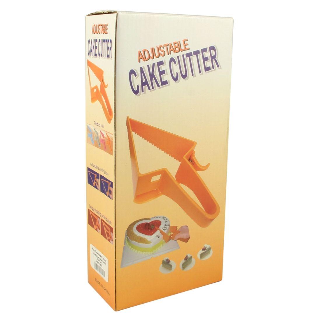 Нож Лопатка для торта Adjustable cake cutter (Оранжевый) Упаковка