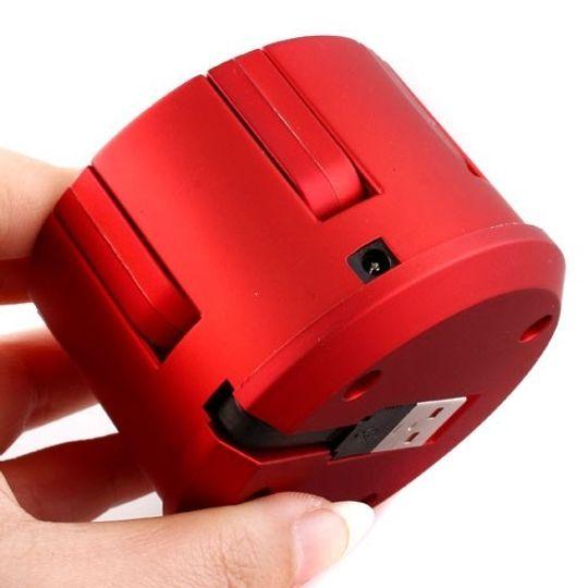 Круглый USB Хаб 7 портов черный