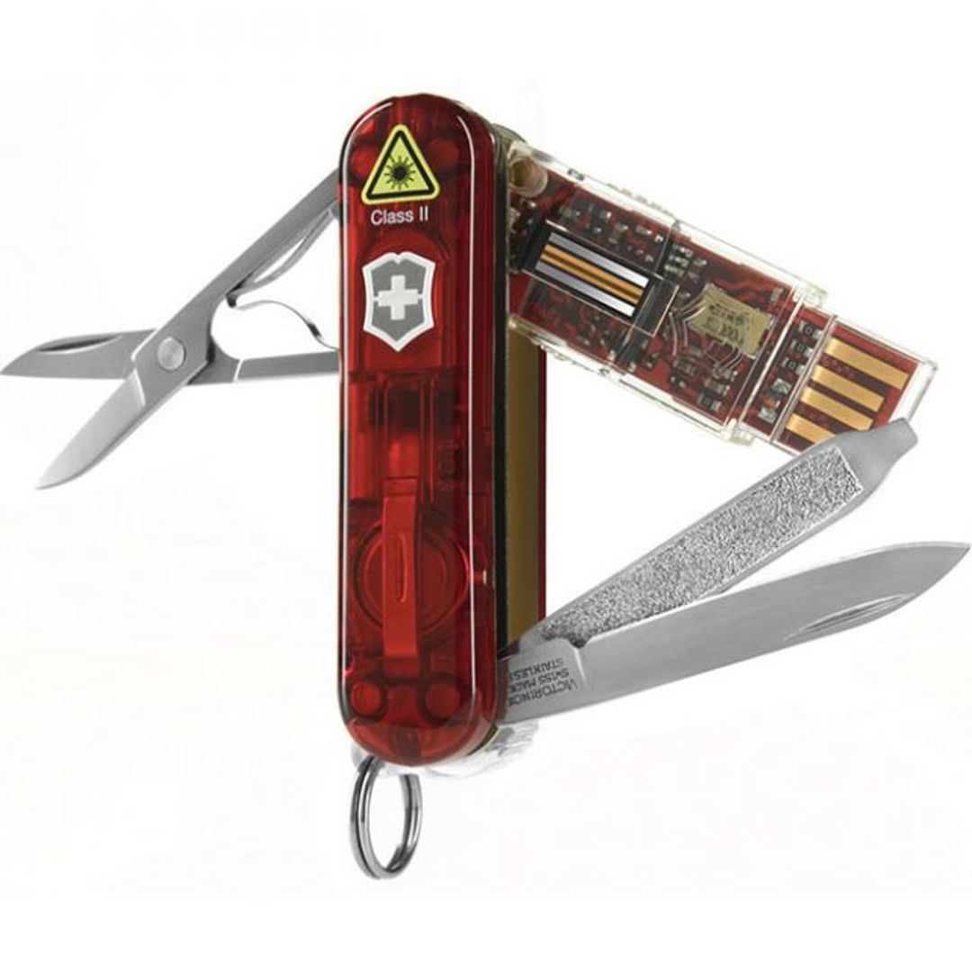 Флешка Швейцарский нож 8 Гб (Красный)