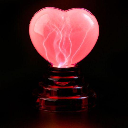 USB Плазменное Сердце В темноте