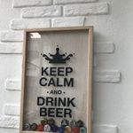 Копилка для пивных крышек Keep Calm And Drink Beer Отзыв