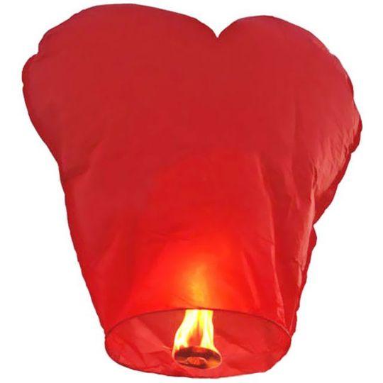 Летающий фонарик Сердце