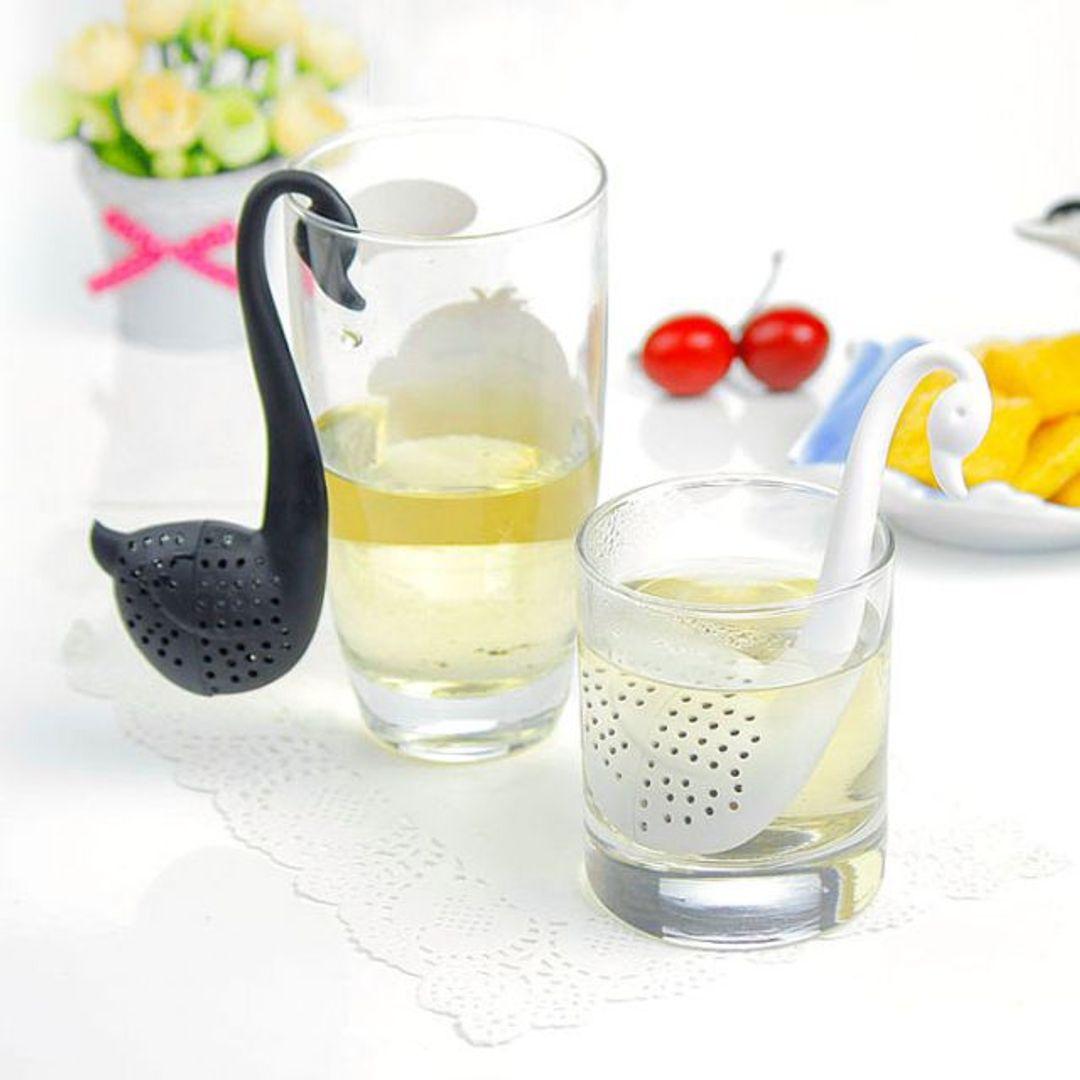 Заварник для чая Лебедь (Белый и черный) Использование