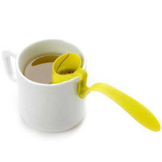 Заварник для чая на кружку Tea Strainer (Салатовый) Использование