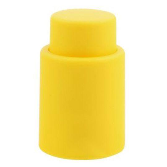 Пробка для бутылки вина Vacu Wine (Желтый )