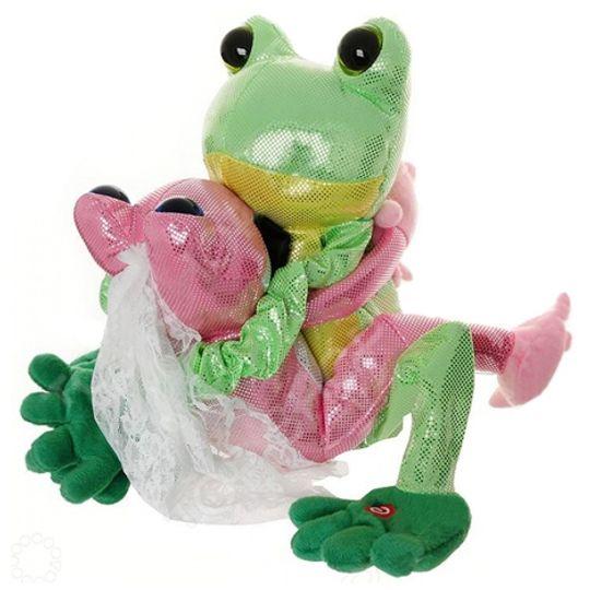 Музыкальная игрушка Лягушки Тим и Джейн