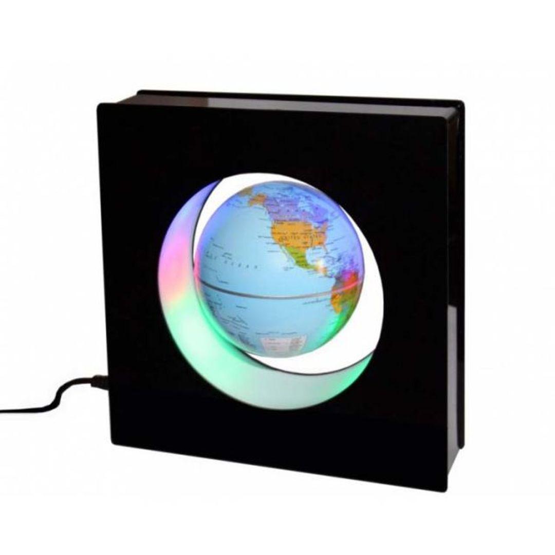 Левитирующий глобус в квадрате