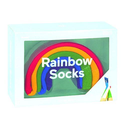 Носки Rainbow — радуга в коробке