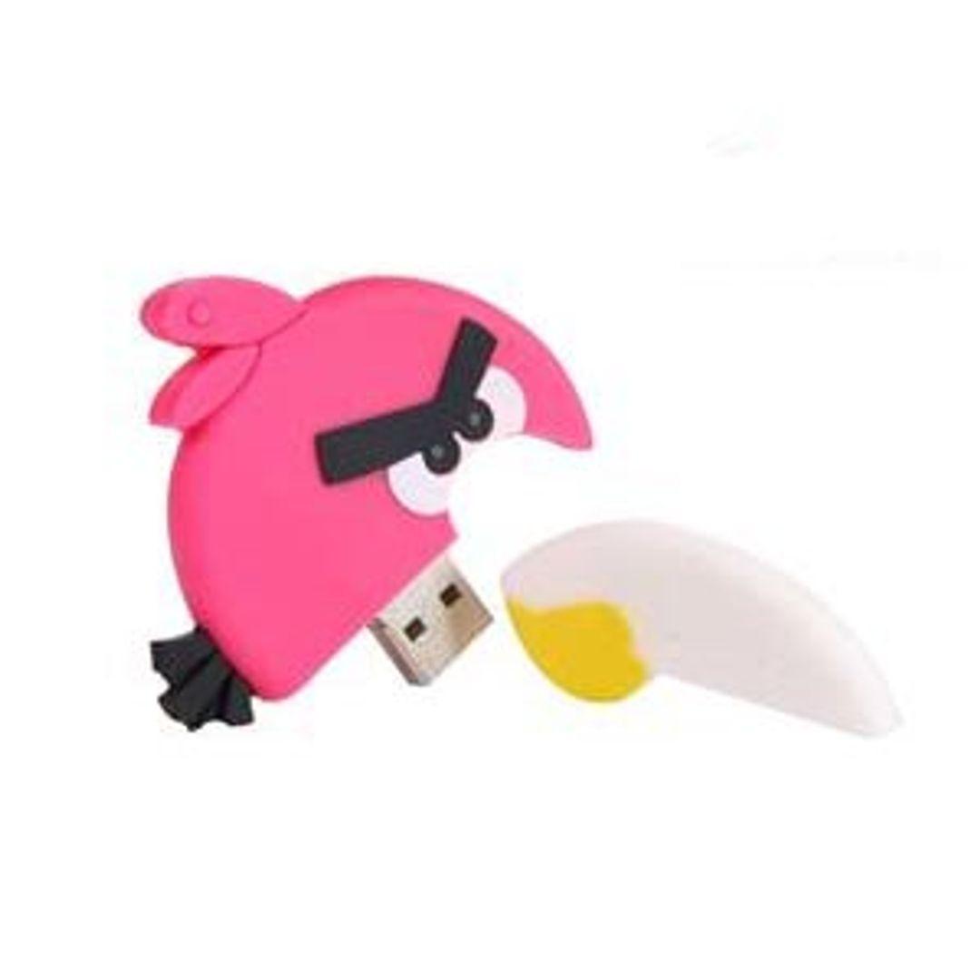 Флешка Angry Birds Розовая птичка 4 Гб