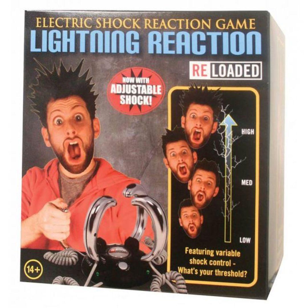 Электрошоковая игра на реакцию