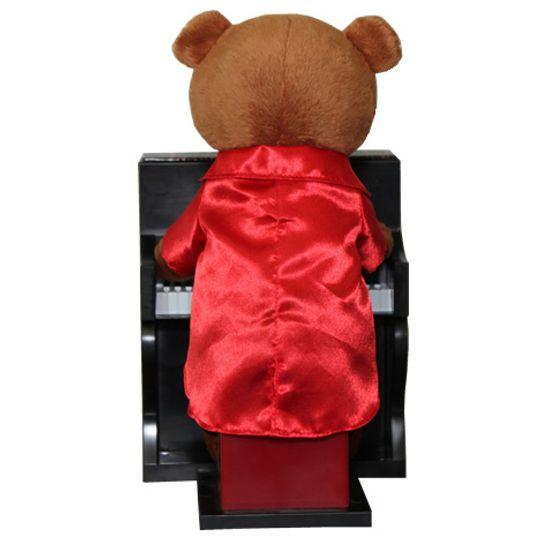 Музыкальная игрушка Медвежонок Пианист Сзади