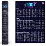 Скретч-плакат 100 коктейлей