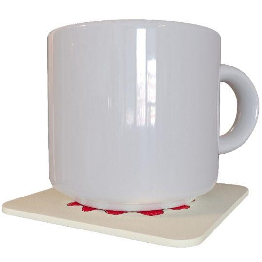 Подставка под чашку Ставь на красное Использование