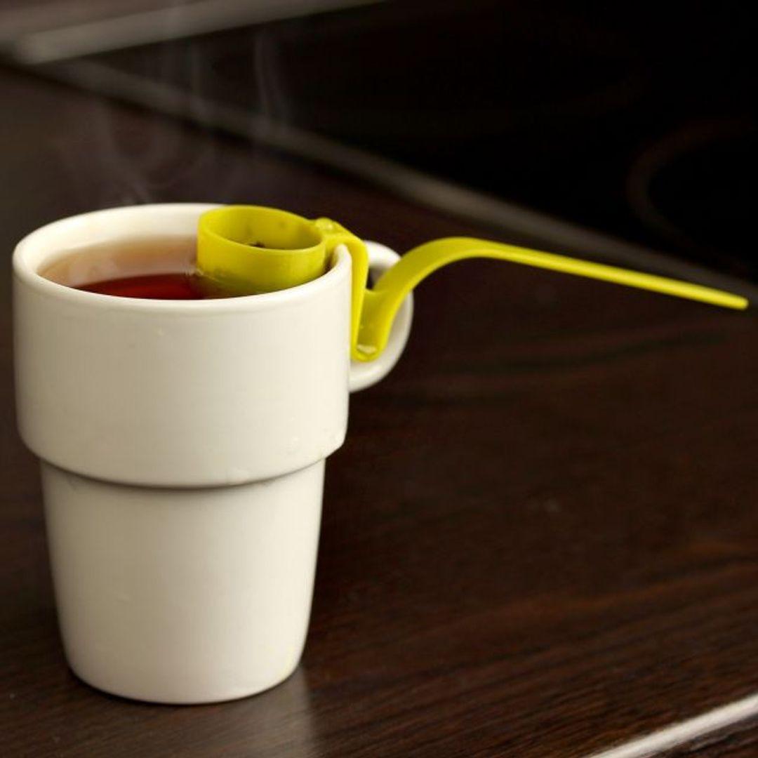 Заварник для чая на кружку Tea Strainer (Салатовый) В кружке