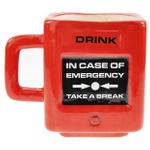 Кружка Take a break Emergency Mug