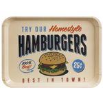 Поднос Best Hamburgers In Town