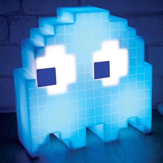 USB Светильник Привидение Pac-man (Голубой)