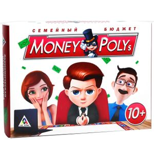 Настольная игра Money Polys Семейный бюджет