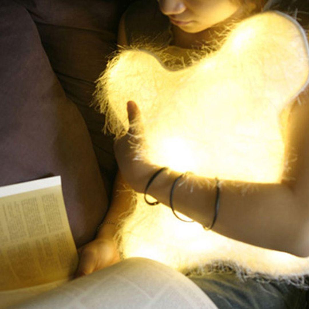 Светящаяся подушка Тоторо