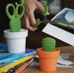 Ножницы на подставке Cactus