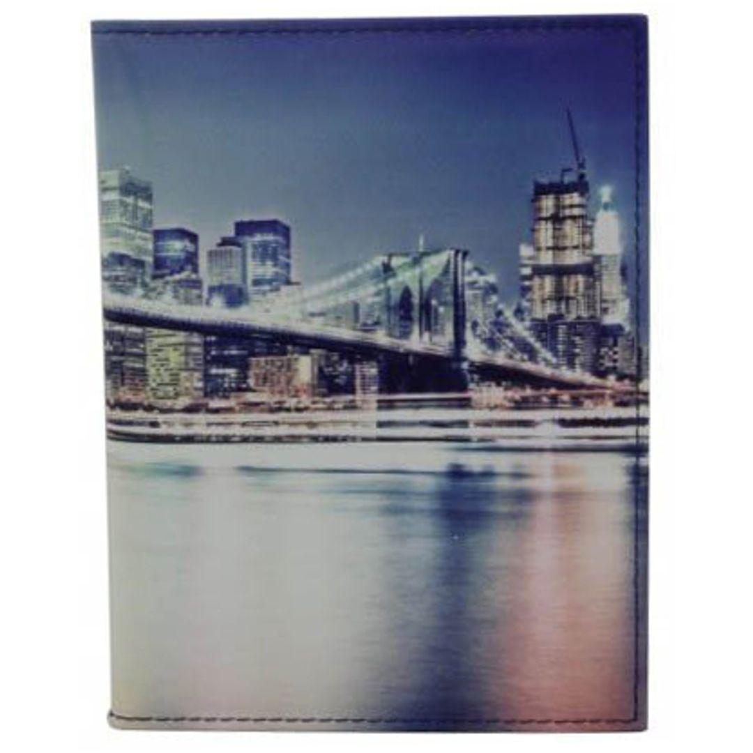 Обложка для автодокументов Бруклинский мост