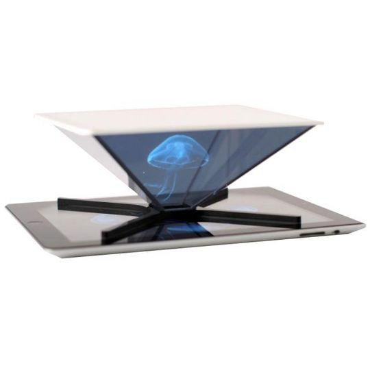 Голографическая пирамида для смартфона и планшета HOLHO