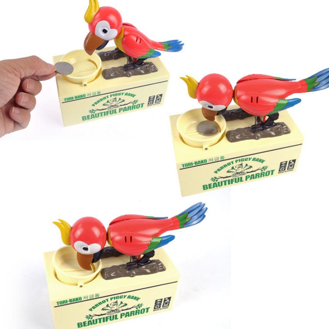 Копилка Попугай Использование