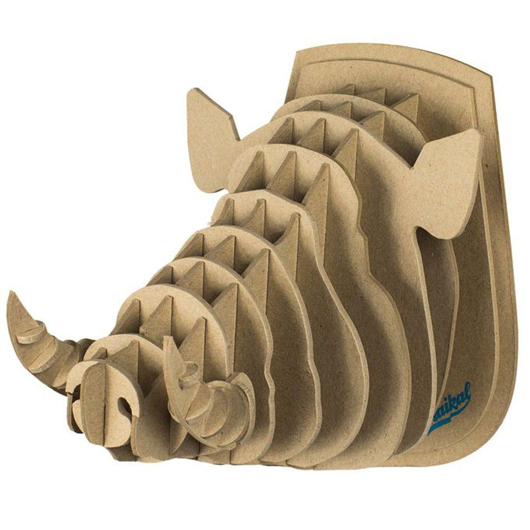 3D Конструктор Голова дикого кабана
