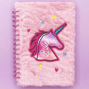 Блокнот плюшевый Unicorn Believe