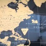 Скрэтч-карта мира Black (Dark) Edition (увеличенная версия) Отзыв