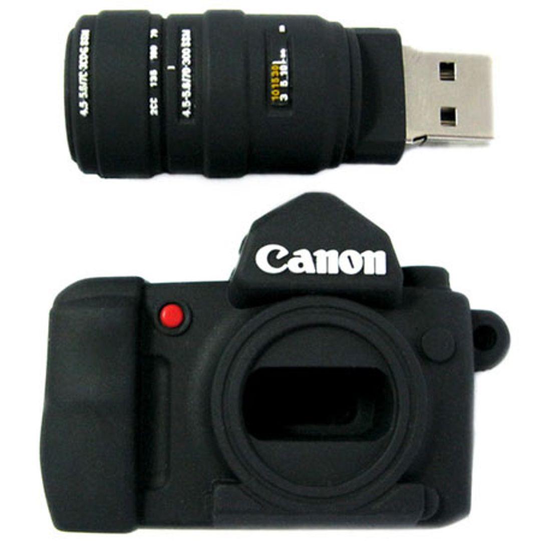Флешка Фотоаппарат Canon 16 Гб В открытом виде