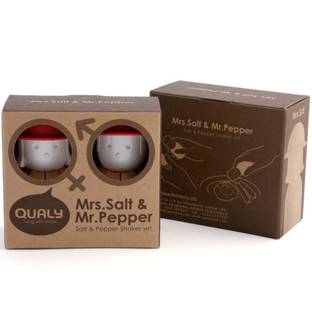 Солонка и перечница Mrs. Salt & Mr. Pepper Упаковка