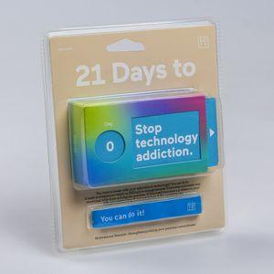 Набор бумажных мотиваторов 21 день, чтобы побороть зависимость от техники