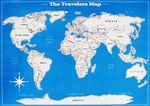 Стиральная карта путешественника