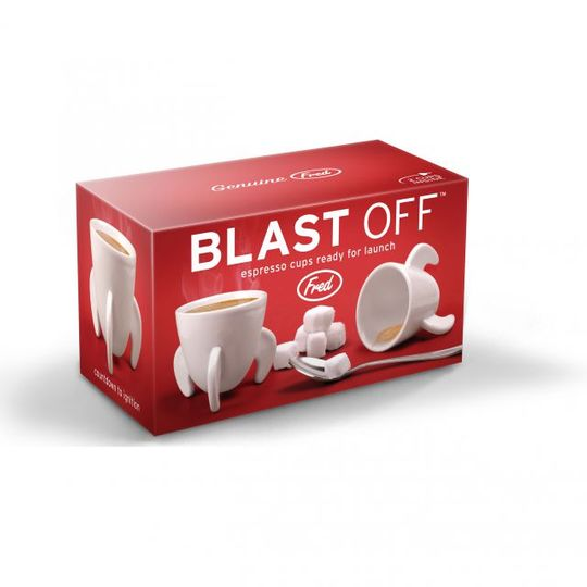 Кофейные чашки Бомбы Blast Off Упаковка
