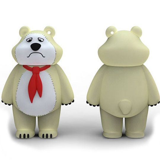 Флешка Медведь Пионер 8 Гб