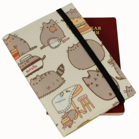 Обложка для паспорта Pushin