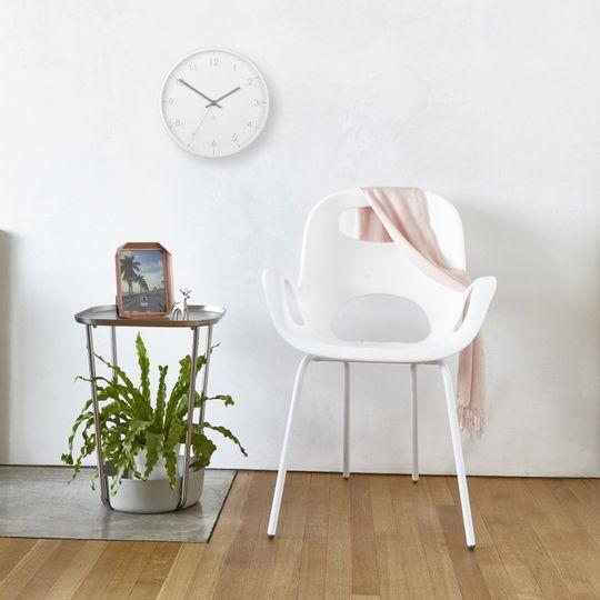 Часы настенные PACE (Белые) В интерьере